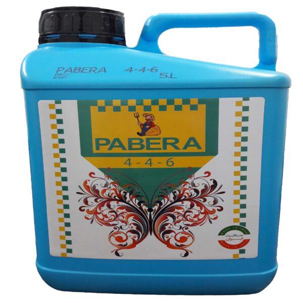 کود NPK 4-4-6 پابرا 5لیتری