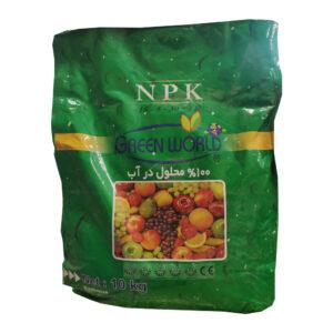 کود کامل NPK 15-5-30 گرین ورد 10 کیلوگرم